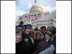 Central HS Students at the Presidential Inauguration