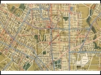 1944 PTC Philadelphia Transportation Company Map